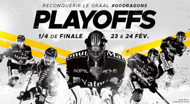 Hockey Rouen Calendrier.Playoffs Reservez Vos Places Dragons De Rouen