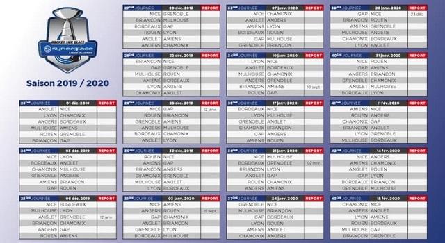 Calendrier Play Off Ligue Magnus 2021 SLM : LE CALENDRIER DE LA SAISON 2019/2020 DÉVOILÉ   DRAGONS DE ROUEN
